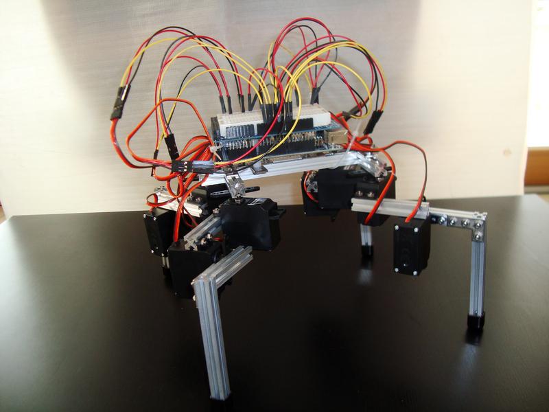 project Hexapod robot – MakerBeam