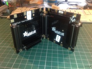 Neopixel 8x8 with Makerbeam