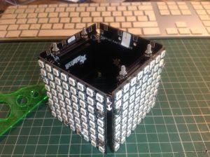 cube almost closed